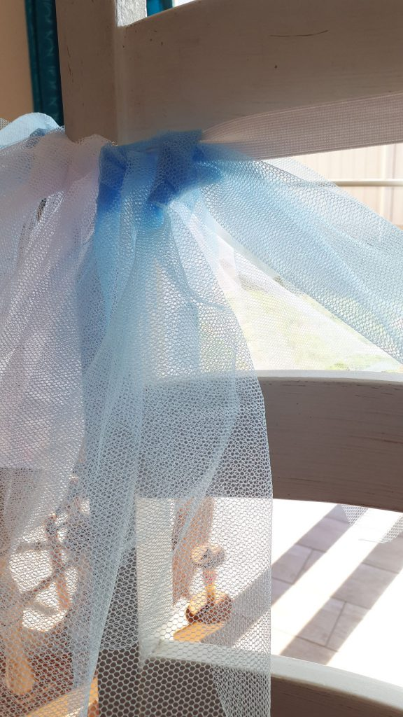 knotting tulle