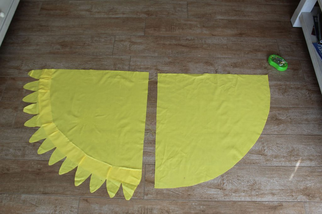 bird wings costume base
