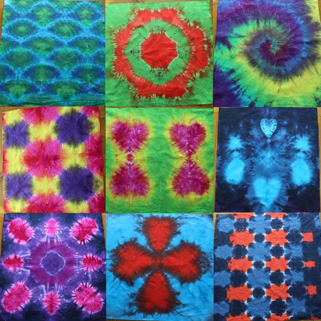 tie dye patterns