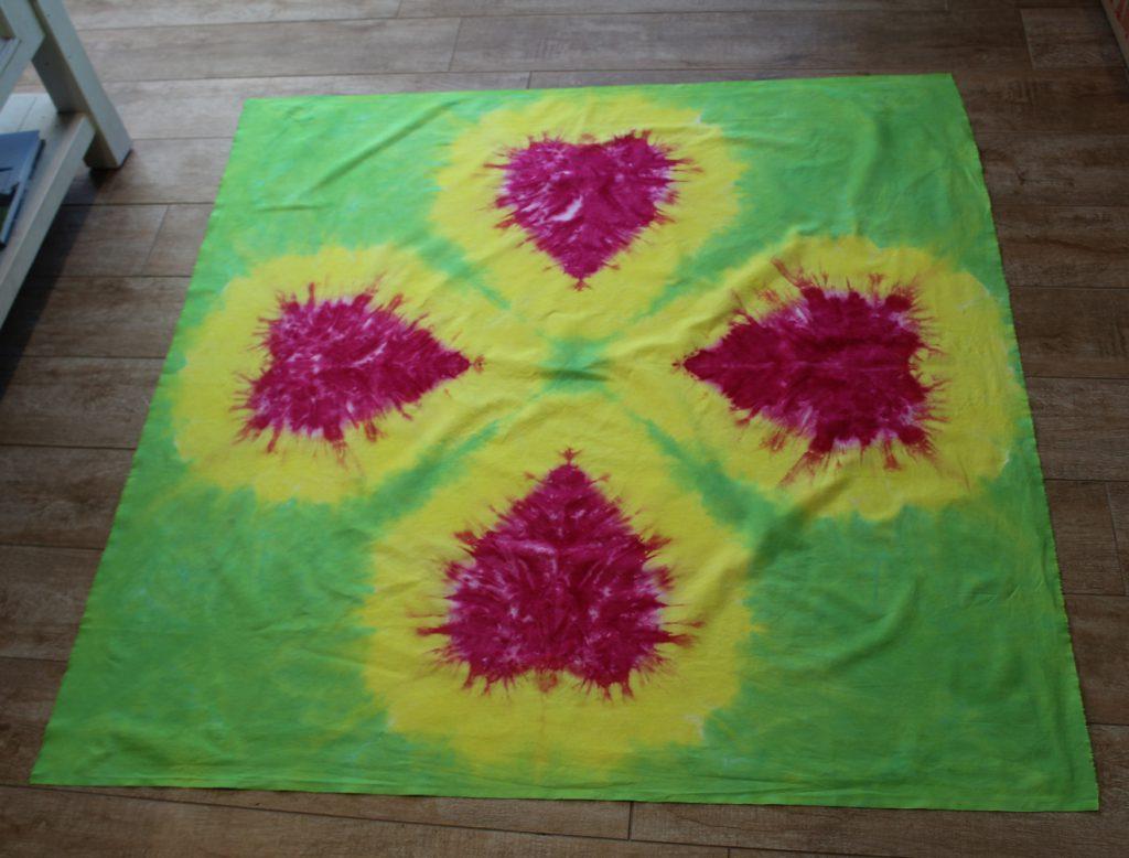 hearts tie-dye
