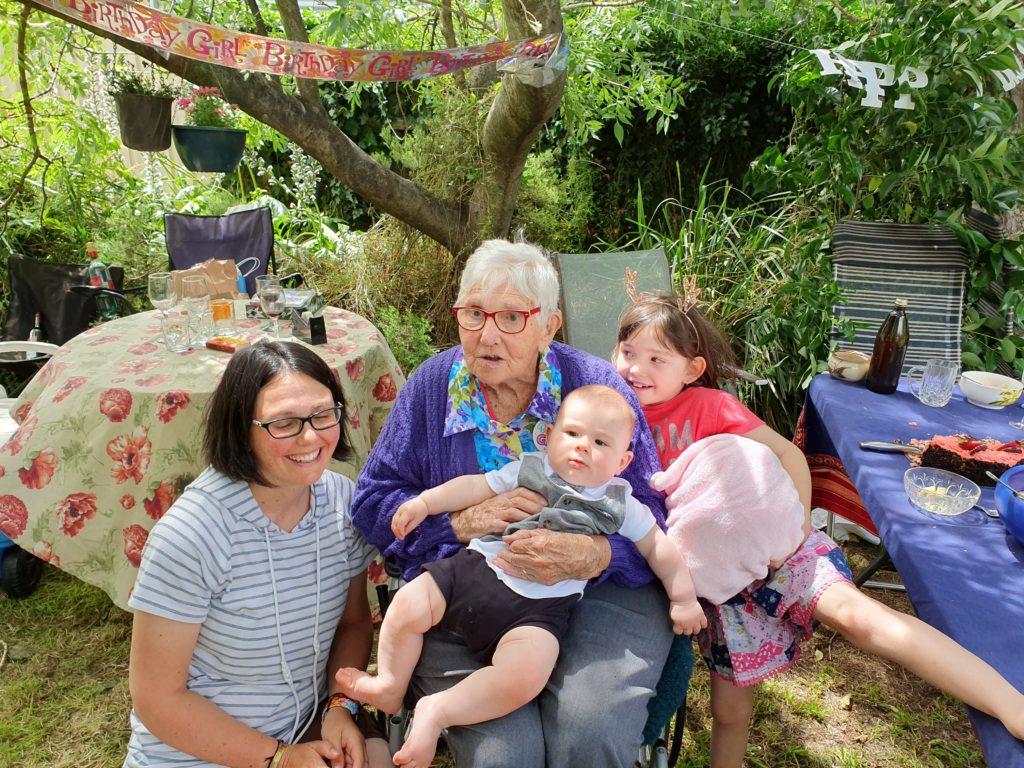 meeting nanna and cousin